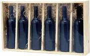 Six Bottle Wooden Winebox