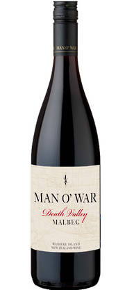 Man O' War Death Valley Malbec 2014