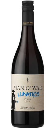 Man O War Lunatics Syrah 2016
